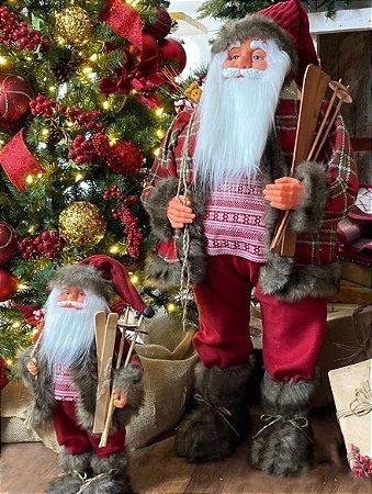 Papai Noel Decorativo (par)