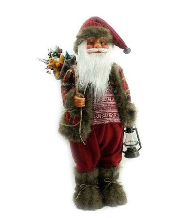 Papai Noel com lanterna