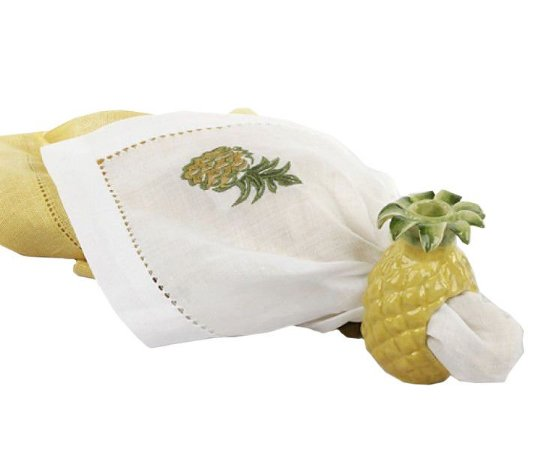 Porta guardanapo de abacaxi Zanatta Casa