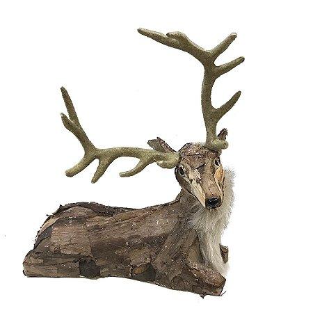 Rena casca de árvore