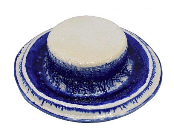 Chapéu com listras azul escorrido Zanatta Casa