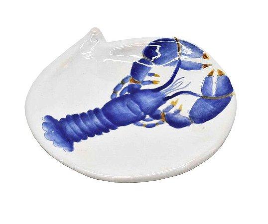 Prato Pão lagosta azul Zanatta Casa