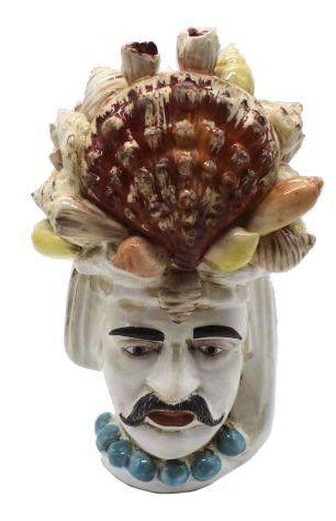 Cabeça de conchas masculina Zanatta Casa