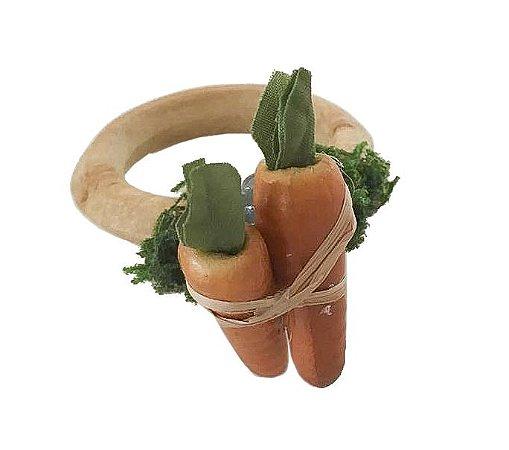 Porta guardanapo cenouras de páscoa (cj com 2)