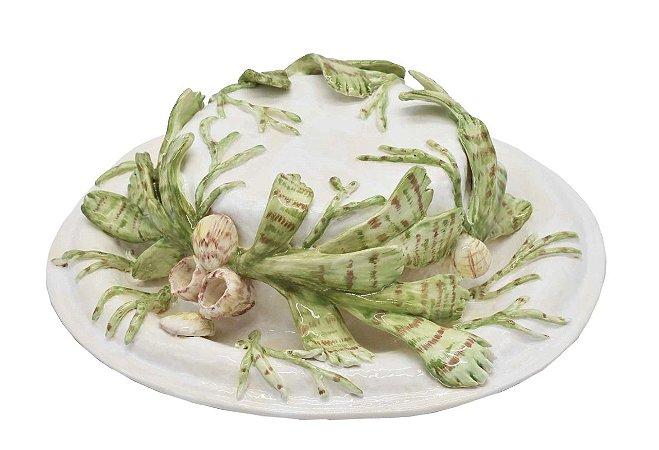 Chapéu com aplicação de coral Zanatta Casa