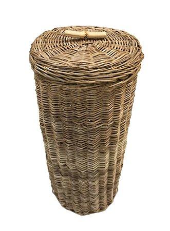 Porta papel higiênico vime e bambu
