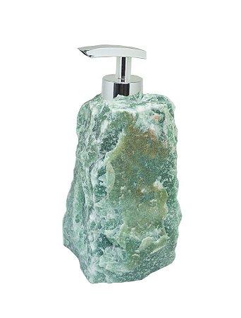 Dispenser em quartzo verde