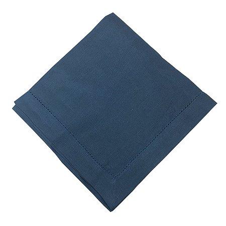 Guardanapo de linho azul escuro (jogo 2)