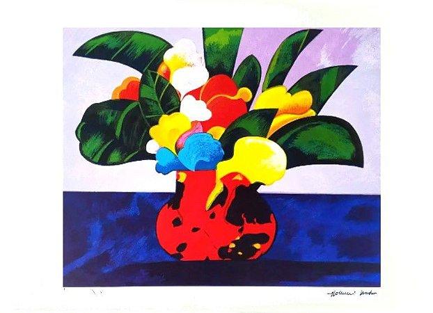 Gravura Vaso de Flores
