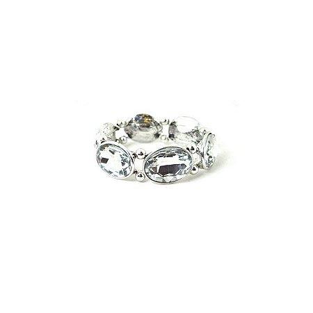 Pulseira Armazem RR Bijoux cristais prata