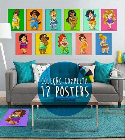Coleção de Posters Completa - 12 posters (Frete Grátis)