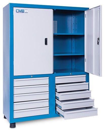 Armário industrial para ferramentas c/ 10 gavetas ARM-003/ARM-008 CMB
