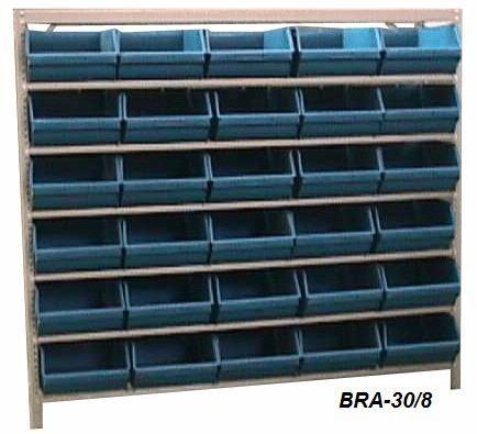 Estante Para Caixa Bin Porta Componentes Para Gavetas n.8 BRA-30/8 Braclay