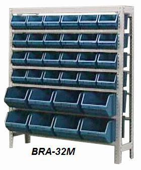 Estante Para Caixa Bin Porta Componentes Para Gavetas n.5 E 7 Braclay