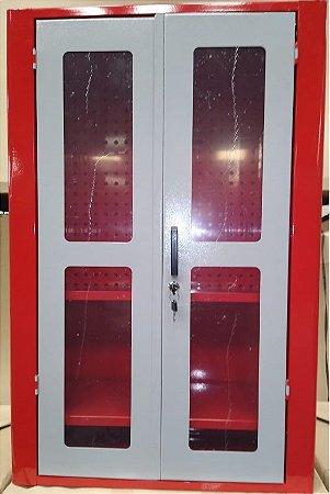 Armário de Parede com painel perfurado e 02 prateleiras  202A