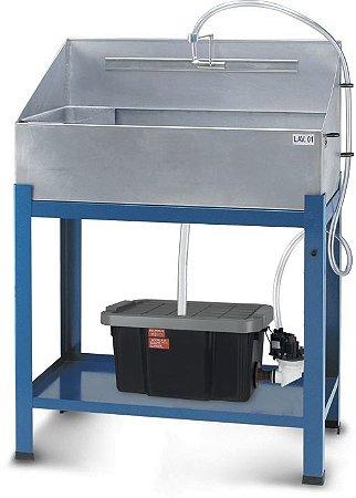 Lavadora de Peças Aberta Reservatório Plástico LAV-01 CMB