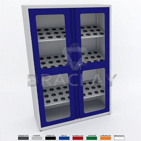 Armário industrial Porta-Cones para 90 cones ISO 40 BRA-10211 BRACLAY