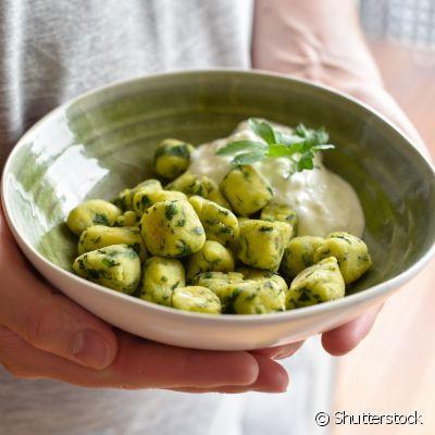 Nhoque de Batatas com Alho Poró (500 gramas)