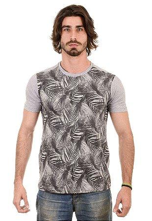 Camiseta basica estampa Coqueiro