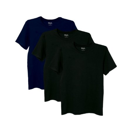 Kit com 3 Camisetas Básicas M