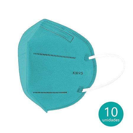 Máscara de Proteção KN95 Verde com 10 un. Ailia