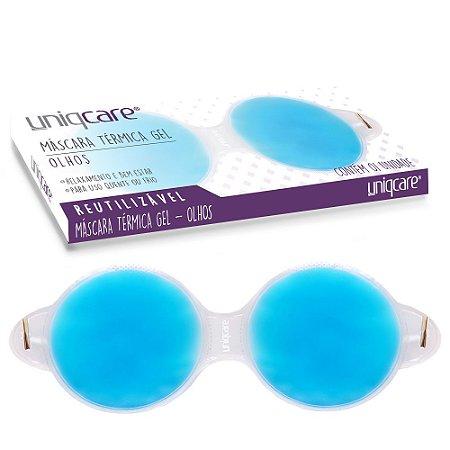 Máscara Térmica Gel Azul para Área dos Olhos Uniqcare