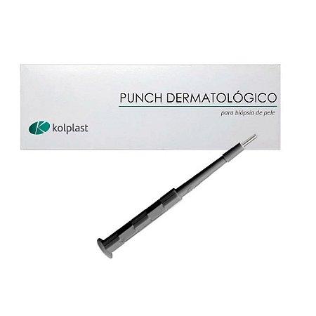 Punch Dermatológico 4mm Estéril Un. Kolplast