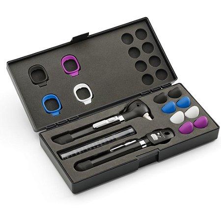 Conjunto Pocket Plus LED Onyx com Case 92880BLK Welch Allyn