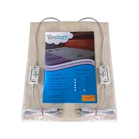 Lençol Térmico Queen Size 2 Temperaturas - 220V - SonoBom