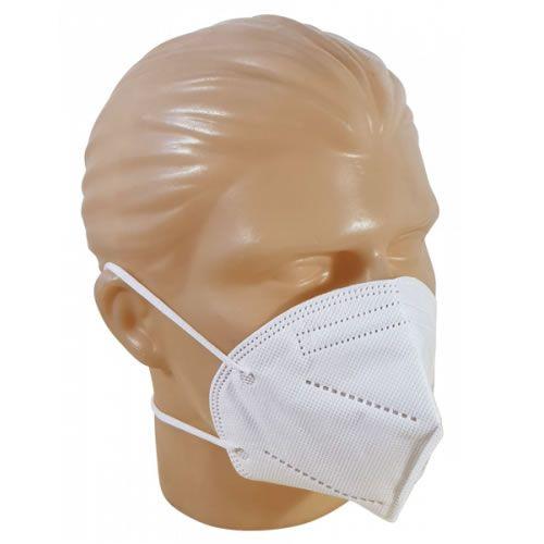 Máscara de Proteção PFF2-N95 Branca Unidade Descarpack