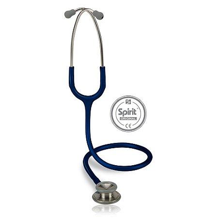 Estetoscópio Professional Azul Marinho Spirit