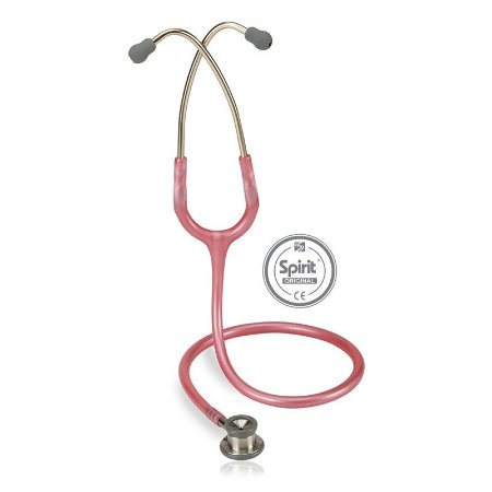 Estetoscópio Professional Neonatal Rosa Perolizado Spirit