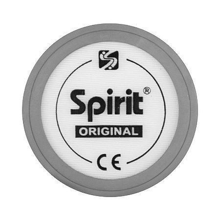 Diafragma c/ anel cinza p/ Estetoscópio Professional Pediátrico Spirit