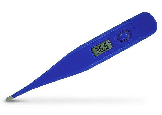 Termômetro Clínico Digital Termo Med 1.0 Azul Incoterm