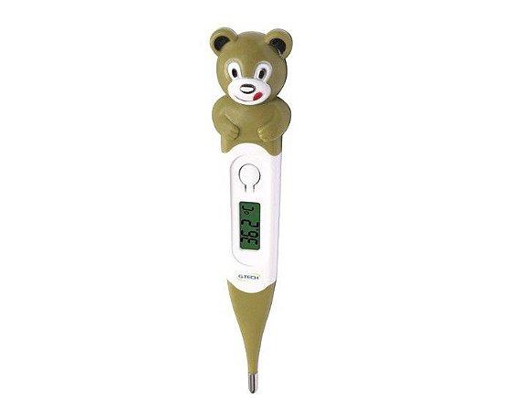 Termômetro Clínico Digital Flexível Urso TH400 G-Tech
