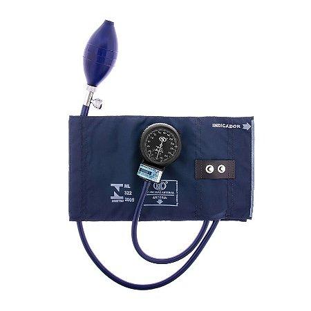 Aparelho de Pressão Adulto Nylon Metal Azul AP0229 BIC