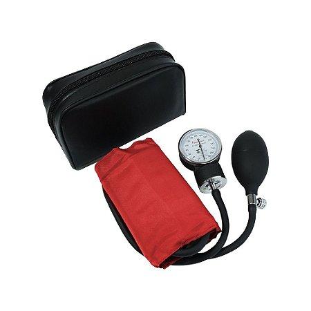 Aparelho de Pressão Adulto Velcro Vermelho Premium