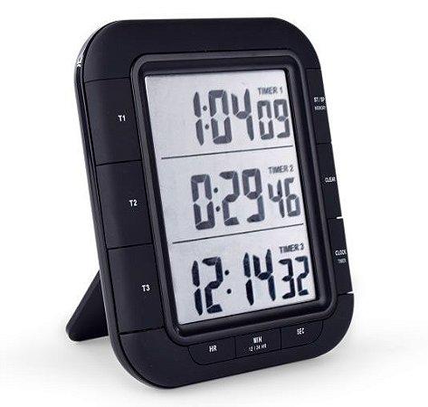 Timer Digital 3 Tempos Incoterm