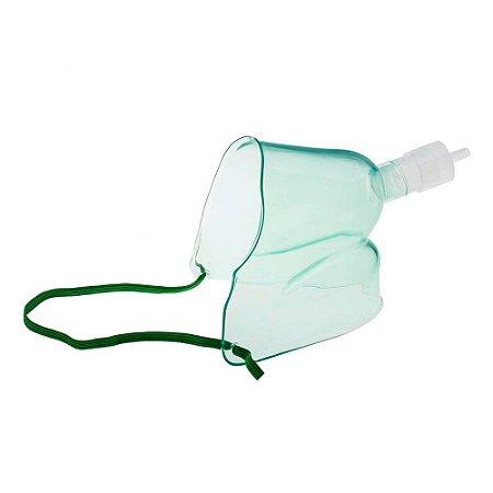 Máscara De Oxigênio Face Tenda 2 Em 1 Adulto MD