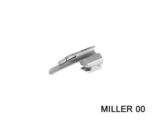 Lâmina Laringoscópio Standard Miller Reta Tam 00 MD