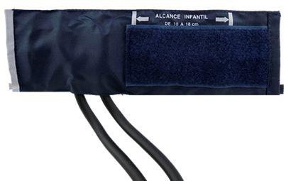 Braçadeira Infantil De Nylon Fecho C/ Velcro(1-7 anos) Premium