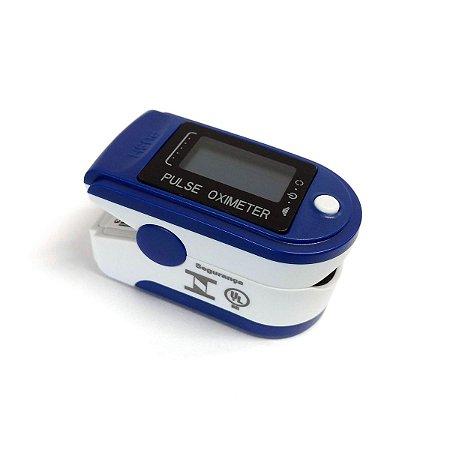 Oxímetro De Pulso CMS50D Azul Montserrat