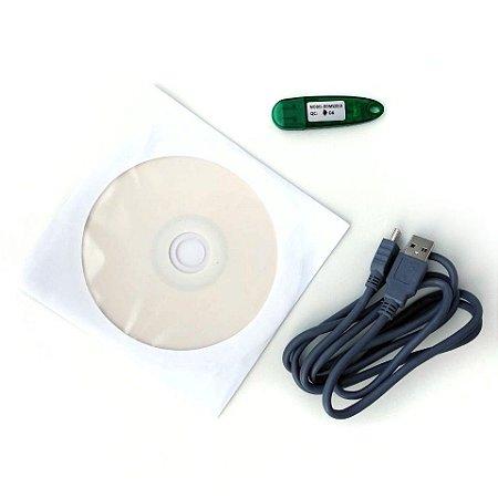 Kit para conexão com o PC do Oxímetro UT-100 MD