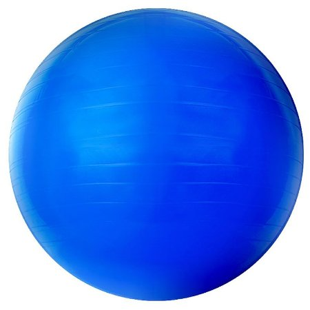 Bola Suíça Gym Ball 65cm Azul Acte