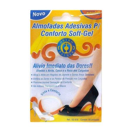 Almofada Adesiva P/ Conforto Softgel Ortho Pauher