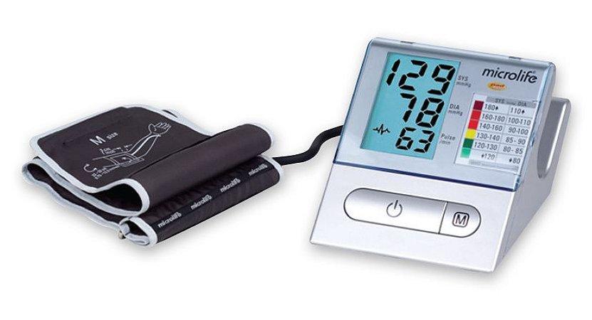 Aparelho De Pressão Digital De Braço Prata BPA100 Microlife