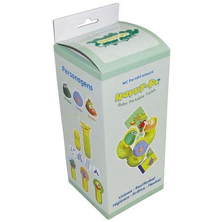 Banheiro portátil HAPPY-PI infantil com 3 faces 400mL MD