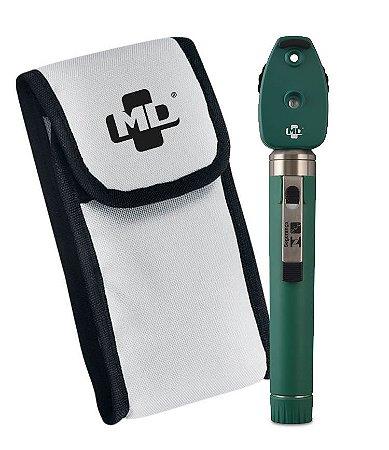 Oftalmoscópio LED OMNI 3000 Verde C/ Estojo Macio MD