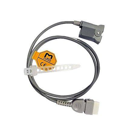 Sensor De Oximetria Tipo Clip De Dedo Pediátrico MD300 Choicemmed