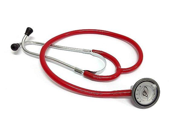 Estetoscópio Adulto Standart Vermelho ES0126 BIC